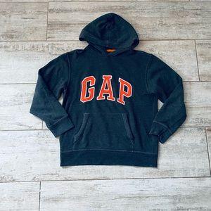 GAP DARK GRAY & ORANGE sweatshirt with pocket
